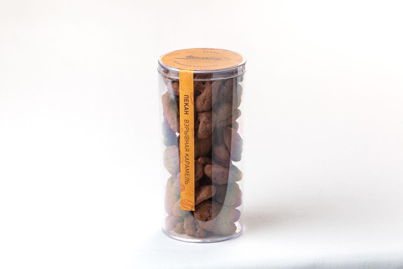 Пекан-взрывная карамель