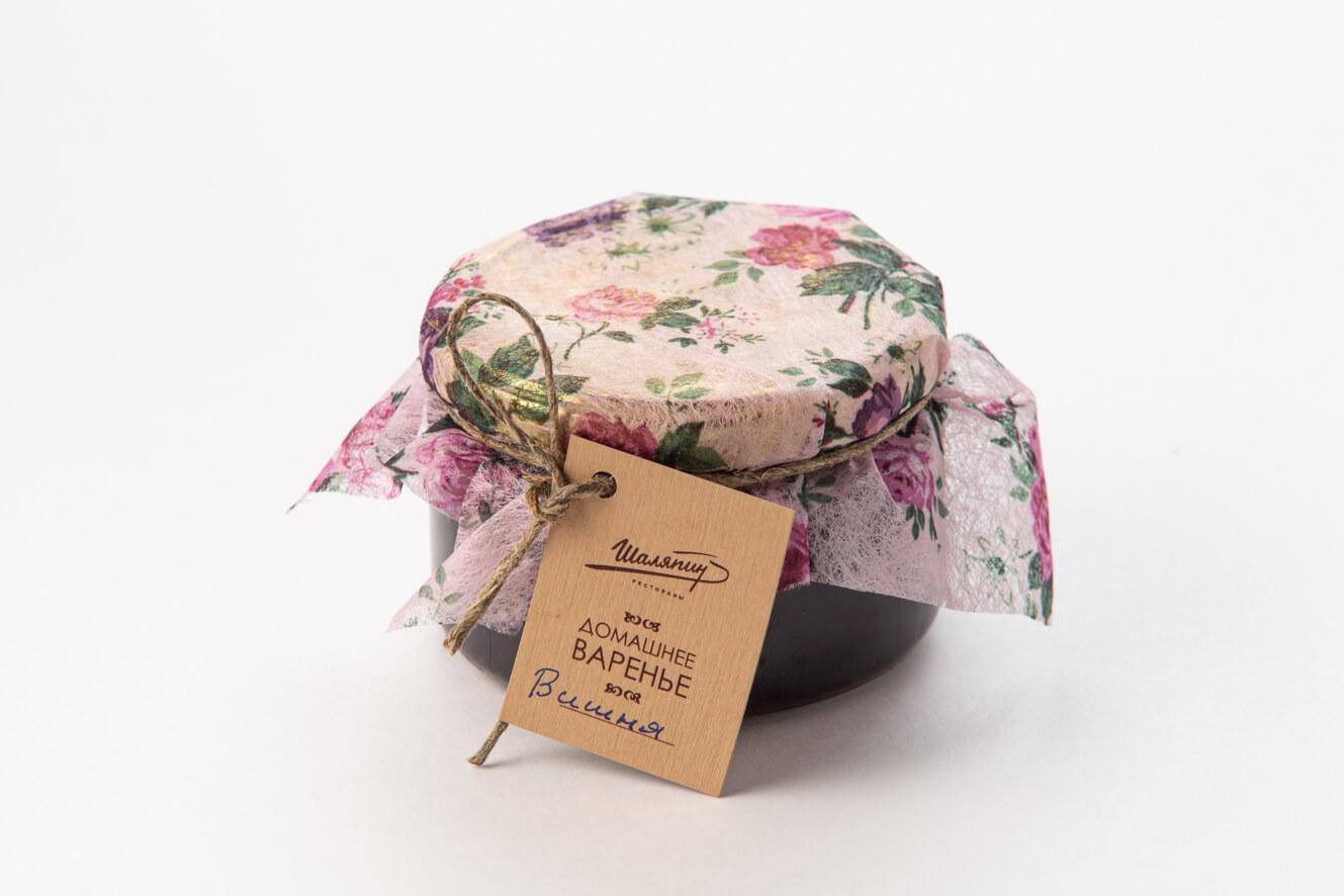 Домашнее вишневое варенье (250 г)