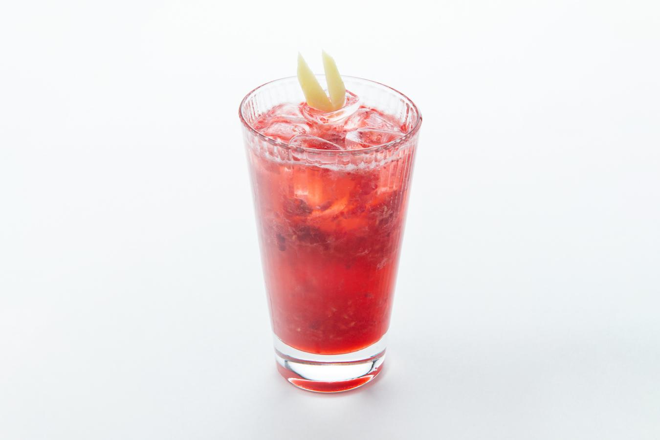 Малиново-имбирный лимонад
